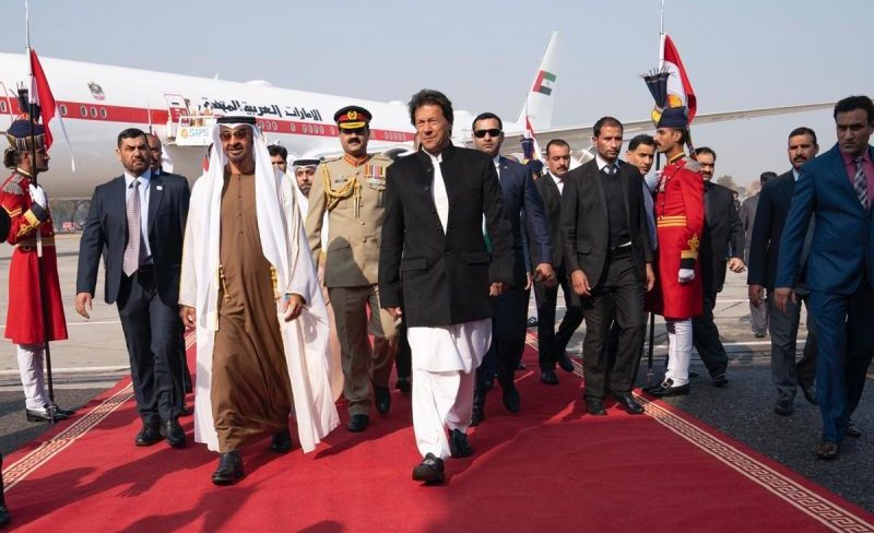UAE's Sheikh Mohamed bin Zayed visits Pakistan, meets PM
