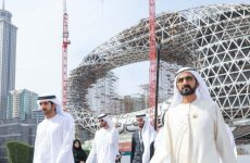 Sheikh Mohammed reviews progress of Dubai's Museum of the Future