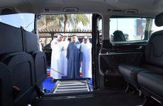 Dubai Taxi Corporation launches new 'royal limo' with fridge, massage seats