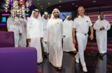 In pictures: Sheikh Mohammed visits mega Italian cruise ship