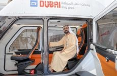 In pictures: Sheikh Mohammed reviews Dubai's new 'Sky Pods'