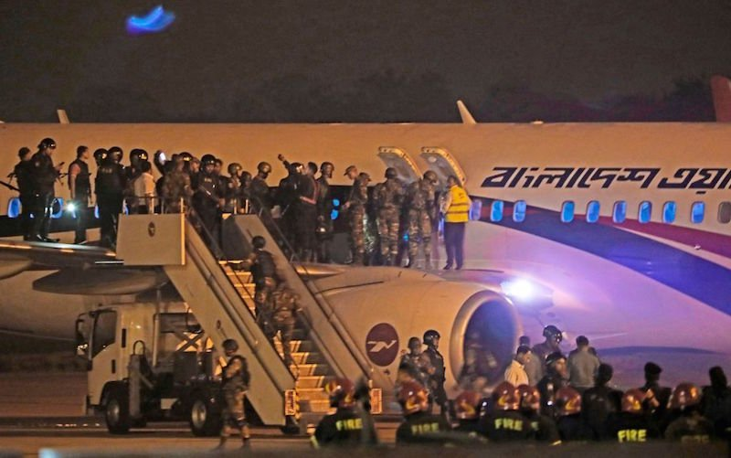 Dubai-bound plane from Dhaka faces hijacking attempt