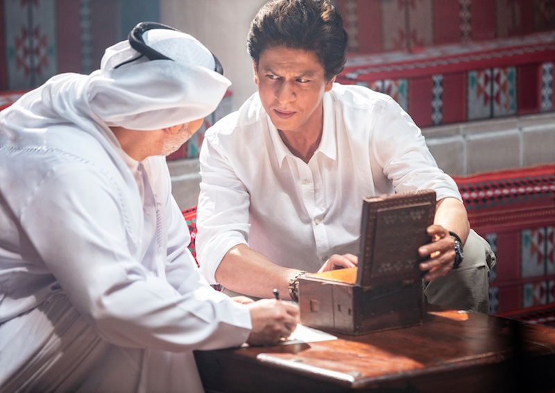 Indian actor Shah Rukh Khan again features in Dubai ...