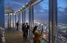 Dubai's Burj Khalifa unveils new dining lounge on 154th floor