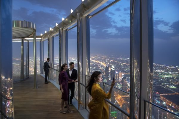Dubai's Burj Khalifa unveils new dining lounge on 154th