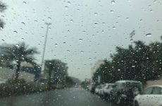 Rain hits part of the UAE; NCM issues alert for hazardous weather