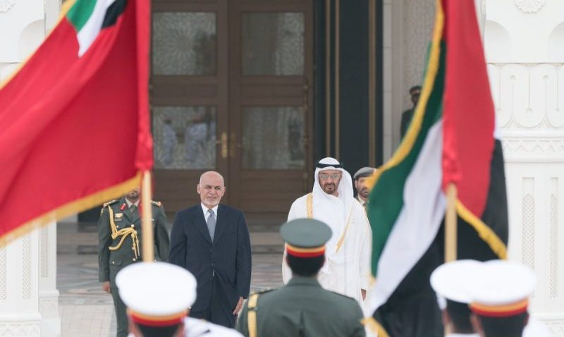 Abu Dhabi Crown Prince meets with Afghan President - Gulf