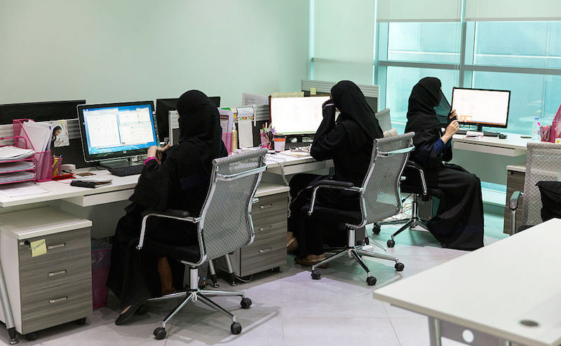 183b135dbe9 Over 166,840 Saudi women employed in kingdom's private sector - Gulf ...