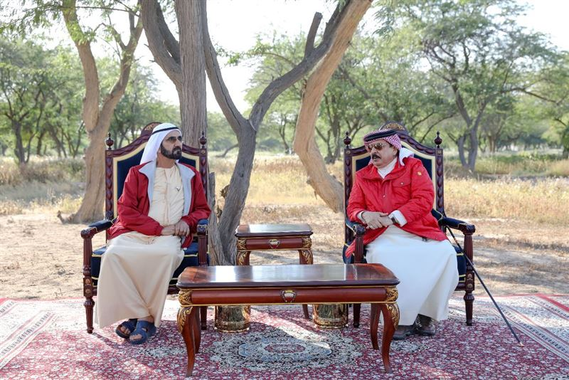 Sheikh Mohammed meets with Bahrain's King - Gulf Business