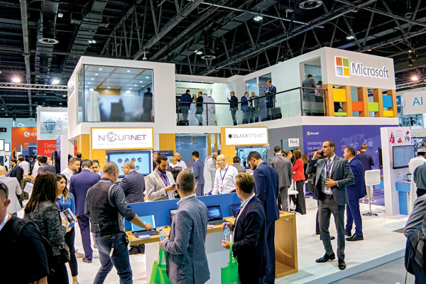 Microsoft had a big presence at GITEX Technology Week last year