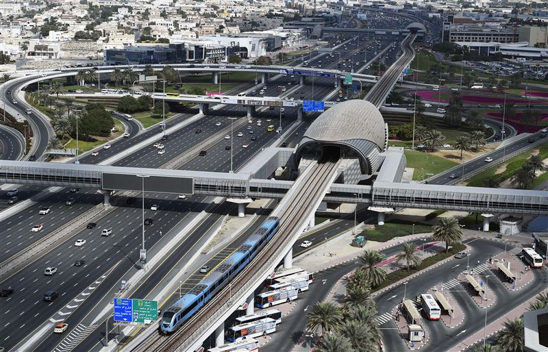 Dubai Metro services between DMCC, Ibn Battuta stations to resume