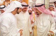 Dubai Crown Prince meets Saudi King, Crown Prince in Makkah