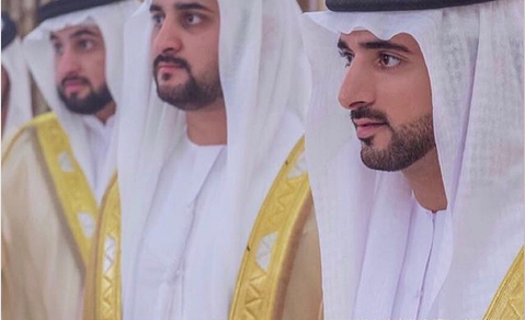Dubai's Crown Prince Sheikh Hamdan, two brothers get married