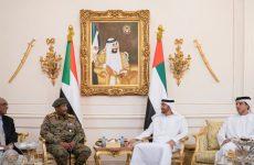 Head of Sudan's military council meets Abu Dhabi Crown Prince