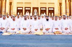 In pictures: UAE leaders perform Eid Al Fitr prayers