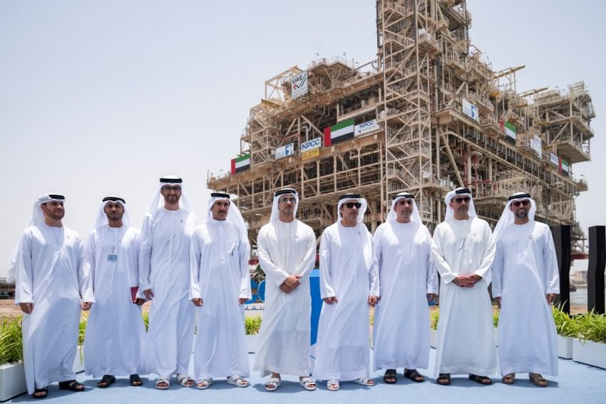 World's largest offshore oil platforms inaugurated in UAE - Gulf