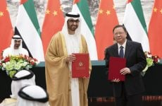 UAE and China sign strategic oil and gas agreement