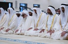 In pictures: UAE leaders perform Eid prayers