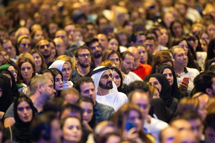 Video: Sheikh Mohammed joins 10,000 attendees at Tony