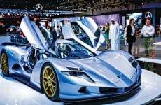 Highlights from the Dubai International Motor Show