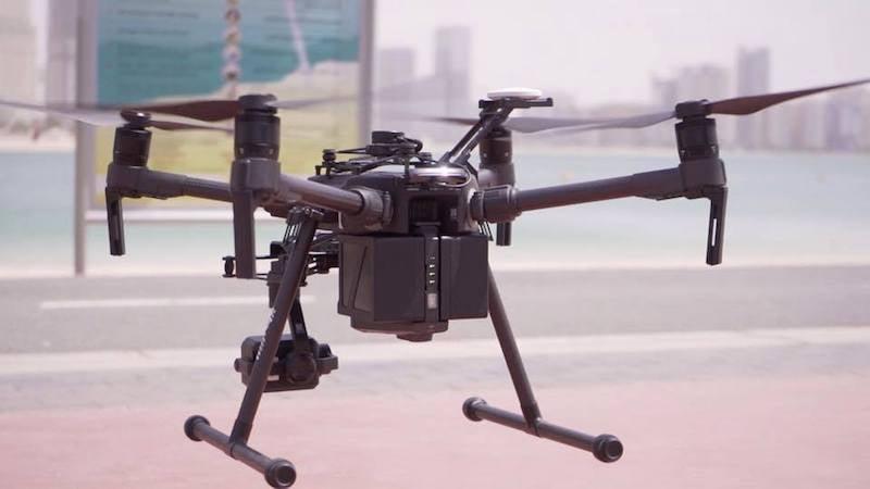 Dubai police drone
