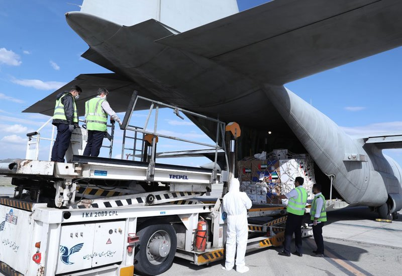 UAE aid plane to Iran