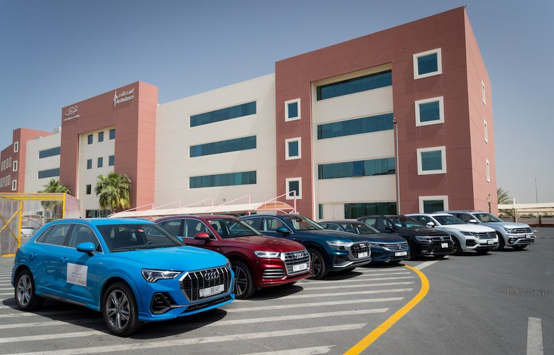Audi Volkswagen Middle East Dubai Corporation for Ambulance Services