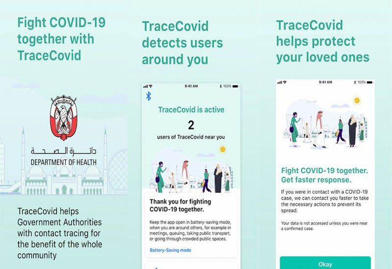 Tracecovid UAE tracker