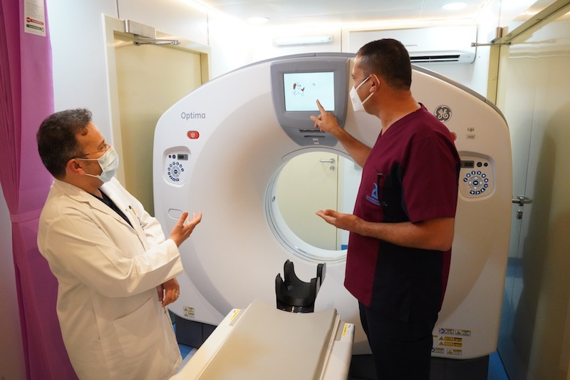 CT Scan Al Ain Hospital Covid-19
