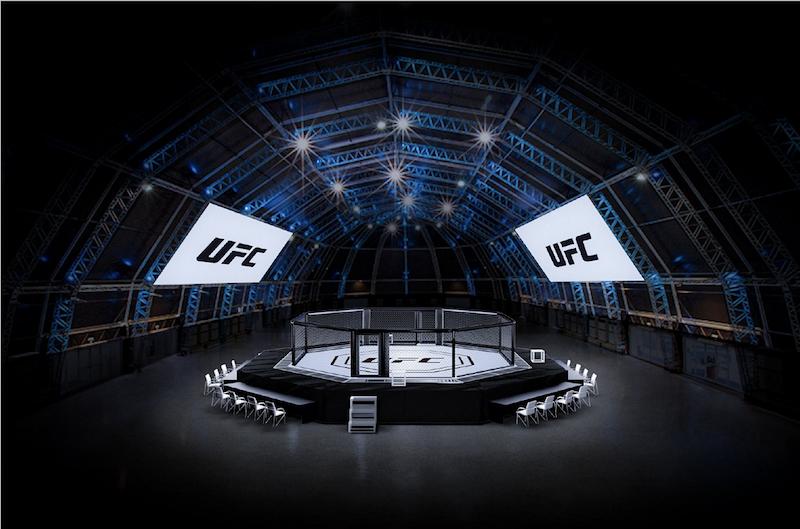 UFC Fight Island Yas Island Abu Dhabi