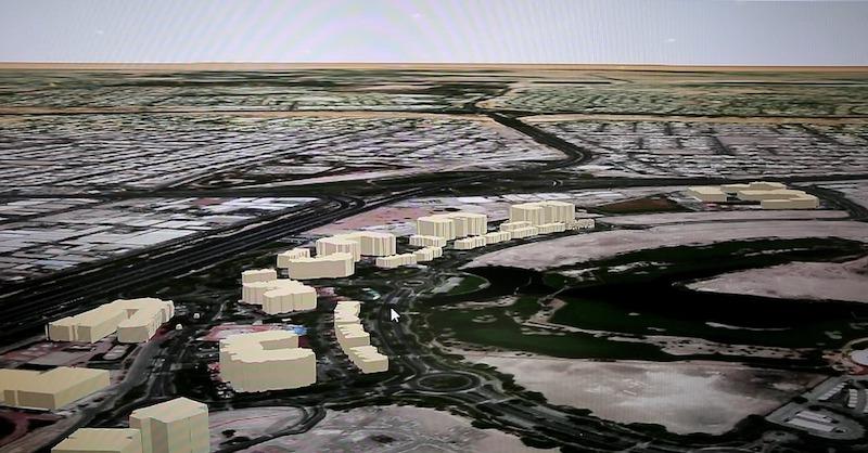Dubai Municipality Geospatial map