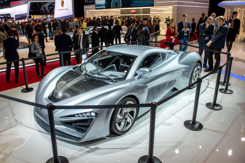 89th Geneva International Motor Show Press Days