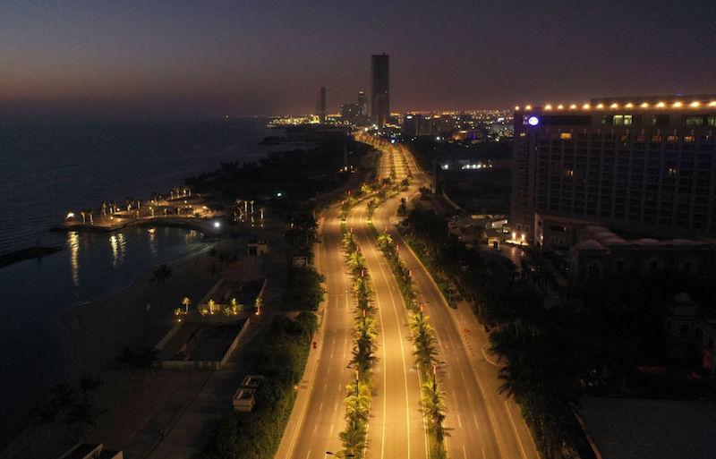 Jeddah curfew Saudi Arabia