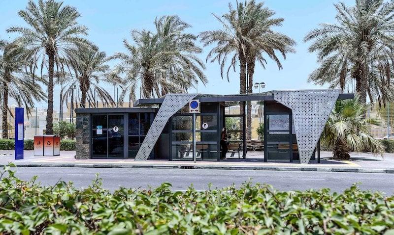 Dubai RTA bus stop