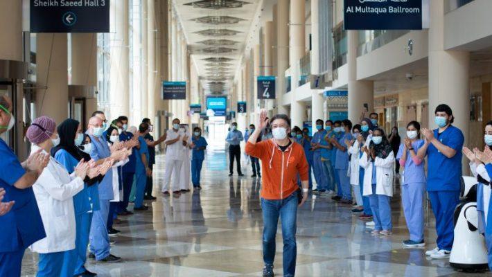 Dubai field hospital patient