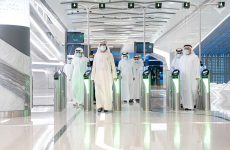 Sheikh Mohammed Dubai Metro Route 2020