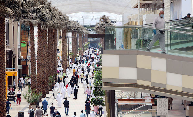 KUWAIT-HEALTH-VIRUS-ECONOMY malls