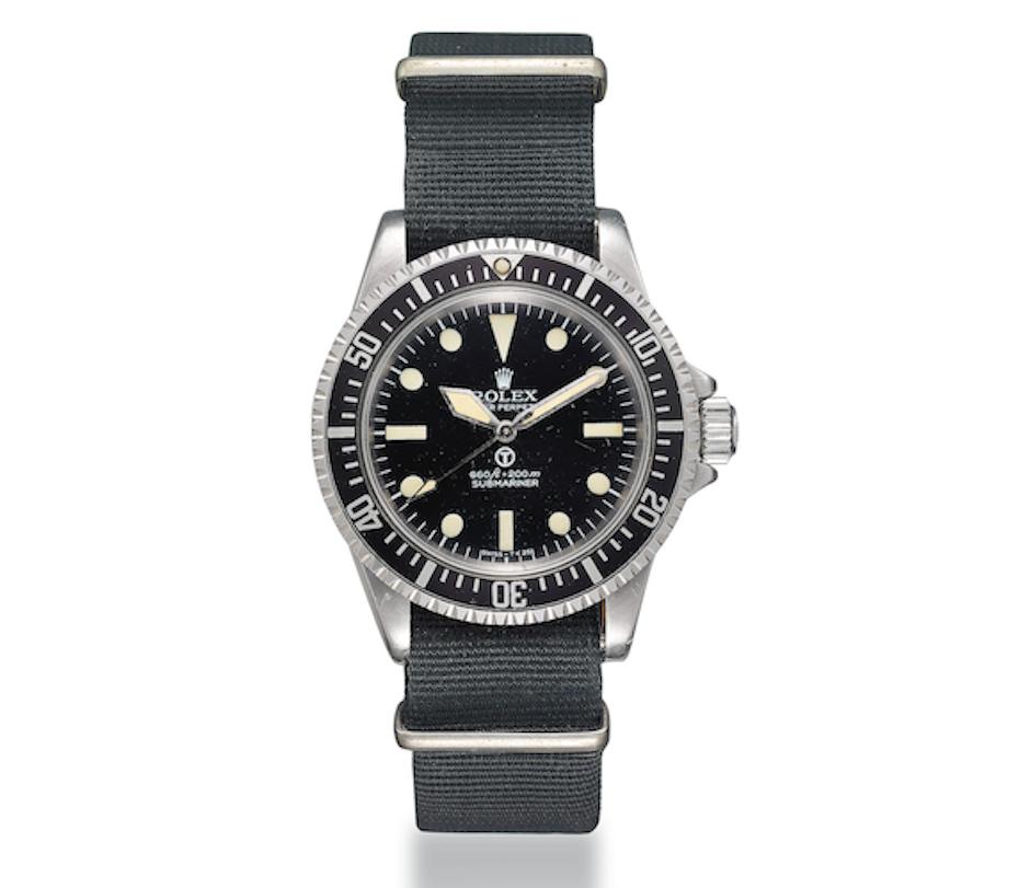 Rolex MILSUB 5513 Christie's Dubai