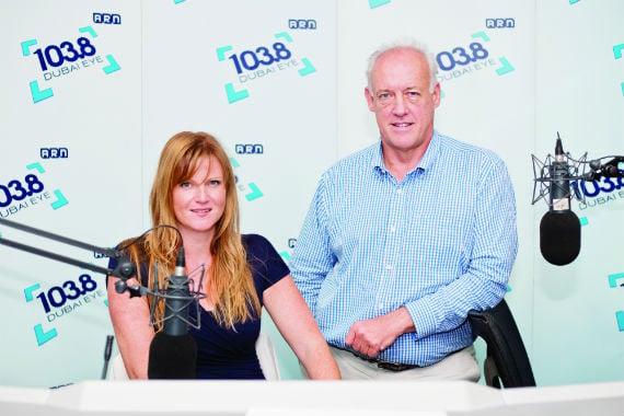 Interview: Brandy Scott and Malcolm Taylor, Dubai Eye Business Breakfast