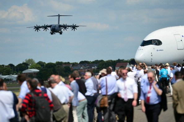 Airbus, Boeing Climb Close To $100bn In Airshow Deals