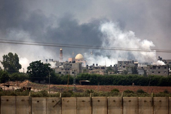 Gaza's Sole Power Plant Knocked Out By Israeli Strike