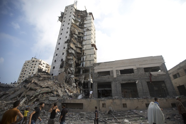 Israeli Air Strikes Target More Gaza High-Rises
