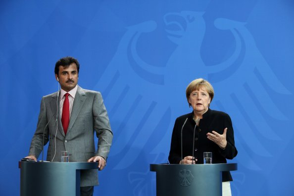 German Chancellor Merkel Sees Closer Energy Cooperation With Qatar