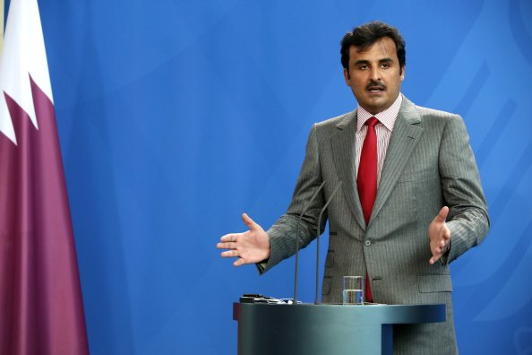 Emir Assures Merkel Qatar Doesn't Fund Extremists In Syria, Iraq