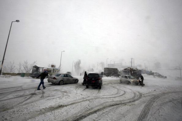 Blizzards Hit Middle East, Refugees Bear Brunt