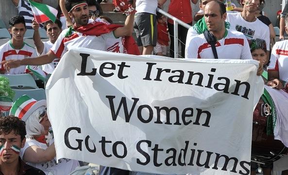 FIFA President Blatter Calls On Iran To Allow Women Into Stadiums