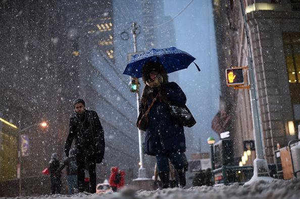 Etihad Cancels New York Flight As Winter Storm Hits Northeast US