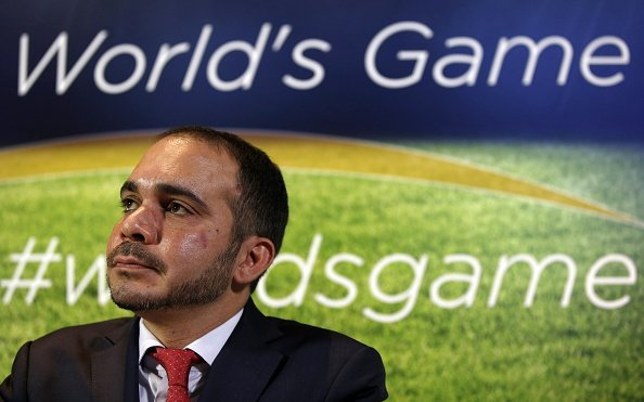 Jordan's Prince Ali formally submits candidature for FIFA presidency