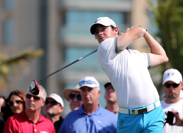 McIlroy Sizzling In Opening Round Of Dubai Desert Classic