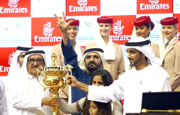 Godolphin's African Story Wins $10m Dubai World Cup In Track Record